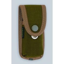 etui Pielcu, modele cordura vert pour manche de 11 a 12cm