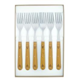 coffret de 6 fourchettes de table Nontron