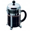 cafetiere verre, modele Chambord a piston 0.5 litre