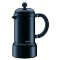 cafetiere italienne, modele Chambord, 0.18 litre, alu noir