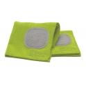 Carre microfibre multi usages vert