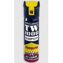 bombe lacrymogene, TW1000, pepper fog oc jet liquide super par 6