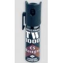 bombe lacrymogene, TW1000, gaz paralysant CS mod femme par 6