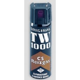 bombe lacrymogene, TW1000, gaz paralysant CS mod standard par 6