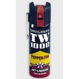 bombe lacrymogene, TW1000, pepper fog oc jet liquide standard 1