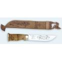 poignard Martiini, modele Lapon, lame inox 15cm