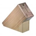 bloc a couteaux vide, bloc de cuisine en bois pour couteau