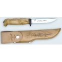 poignard de chasse Martiini, modele lame inox 11cm