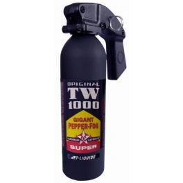 bombe lacrymogene, TW1000,super gigant pepper fog oc,jel liquide