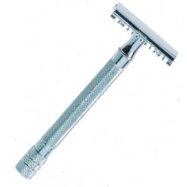 rasoir Merkur Solingen, modele manche long chrome