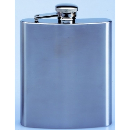 flasque inox, brosse 240ml, bouchon baionnette