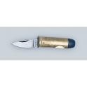 couteau cartouche, modele 44 magnum, manche de 4 cm