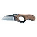 couteau Fox production, modele Elite, manche de 9cm a trou