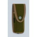 etui Pielcu, modele cordura vert pour manche de 13 a 14cm