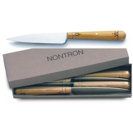 coffret de 6 couteaux de table Nontron