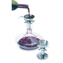 aerateur a vin, en inox, Vacu-vin
