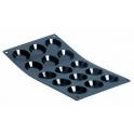 moule silicone, moul flex, pour 15 mini tartelettes