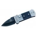 couteau Puma tec, modele automatique lame noire